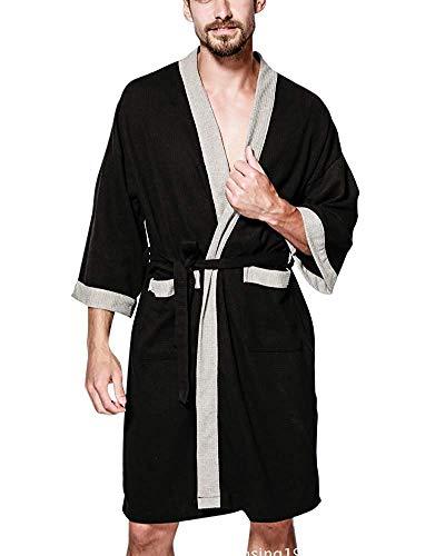 Unisex dames heren ochtendjas badjas licht wafel nachtkleding Robe Negligee Locker Fashionable Completi pyjama voor Spa Hotel Sauna
