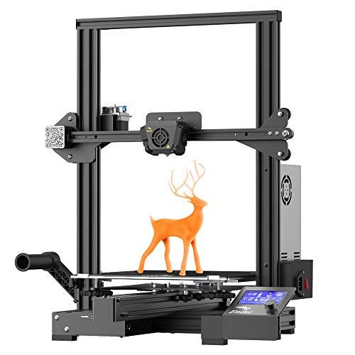 Comgrow Creality Ender 3 Max FDM - Impresora 3D con placa base silenciosa y fuente de alimentación Meanwell (cristal, 300 x 300 x 400 mm)
