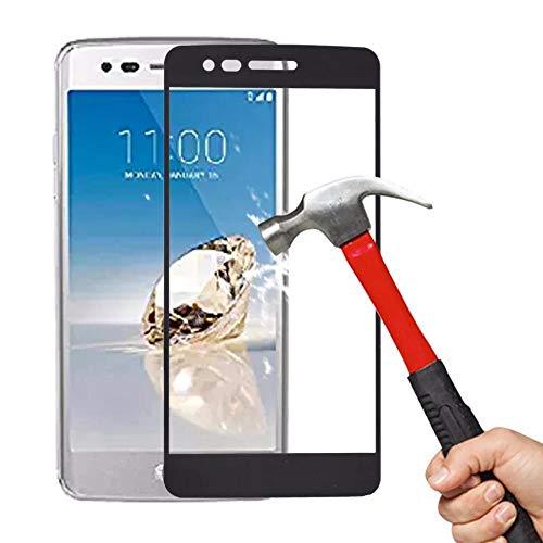 PANGLDT [3 Paquetes] Protector de Pantalla 9H para LG K8 K10 2017 Vidrio Templado Ultrafino para LG G6 G7 V30 Plus K8 K10 2018 K10 película Protectora For LG G6_For LG V30_Blanco
