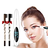 Heated Eyelash Curler, Mini USB Rechargeable Eyelash Curler with LCD Display for Eyelashes Quick Natural Curling Painless Curved Beauty Make-CHAOXI