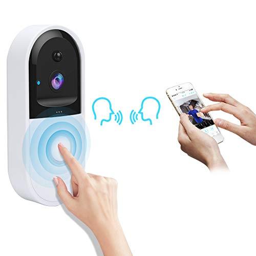 Video Türklingel, Intelligente Wireless WiFi Intercom APP Fernüberwachung Türklingel Viewer Entry Access Home Security System Kit für Villa Apartments