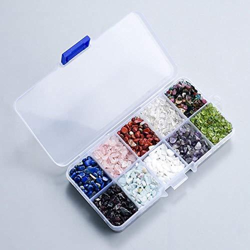 HONGHUA Crushed Stone 200G / Box Schärfkristalle Und Mineral Quarz Heilung Reiki Chip Bead Tumbled Stone Edelstein Für Degauss Dekor, 2