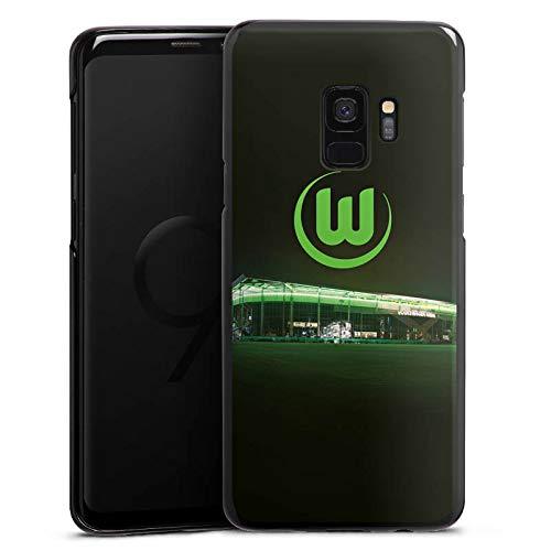 DeinDesign Hülle kompatibel mit Samsung Galaxy S9 Handyhülle Case Offizielles Lizenzprodukt VFL Wolfsburg Stadion