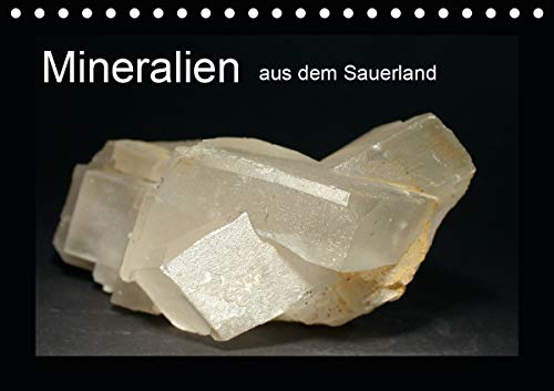 Mineralien aus dem Sauerland (Tischkalender 2021 DIN A5 quer)