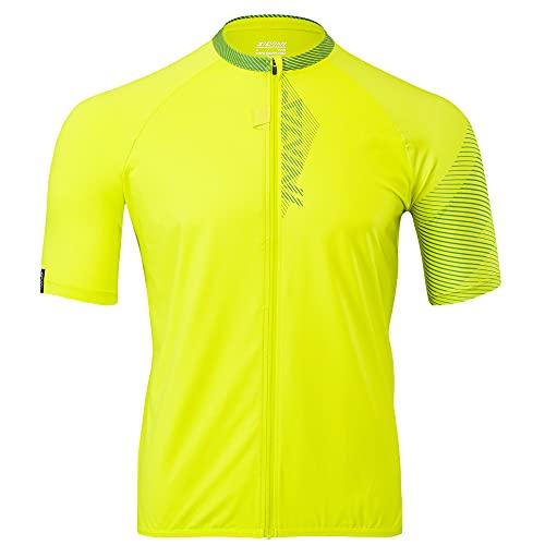 Silvini Turano Pro - Jersey con cremallera para bicicleta de montaña, color verde y verde
