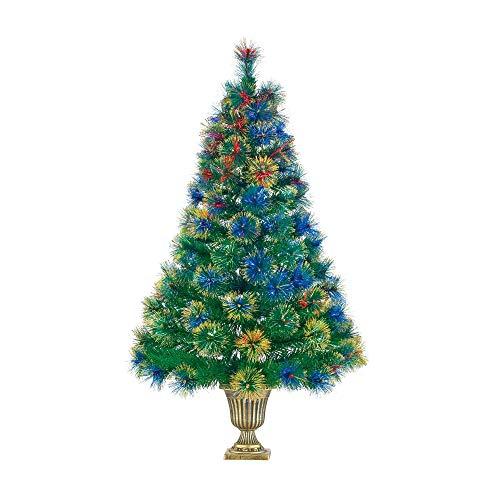 NOMA 4-Foot Pre-lit Fiber Optic Christmas Tree
