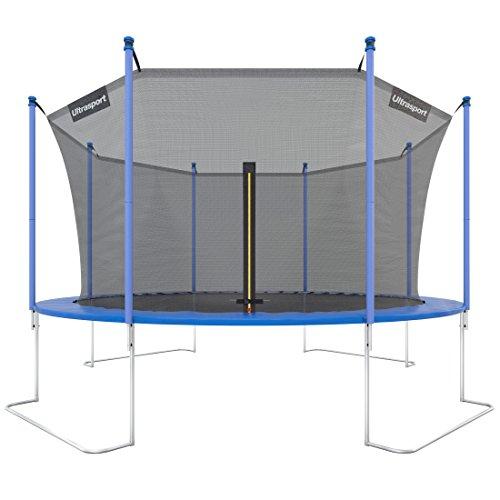 Ultrasport Trampolino da Giardino Jumper, Inclusa Rete di Sicurezza