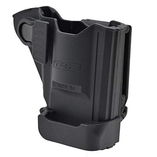 T4E Unisex – Adulto HDR 50, nero