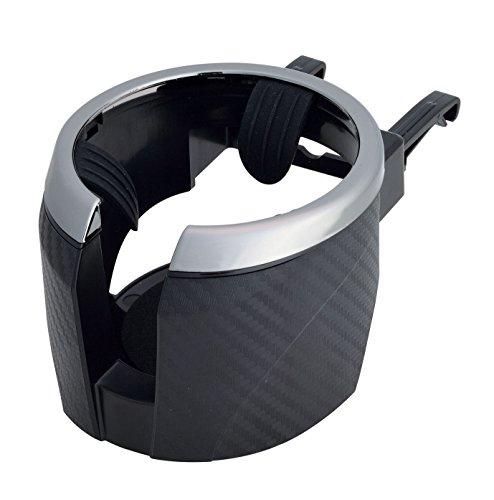 セイワ カーボン調 カップホルダー W859 メタルブラック