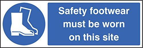 Caledonia Schilder 85232G Zeichen, Sicherheit Schuhe zu tragen, auf dieser Seite