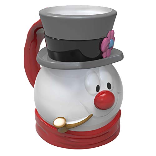 Zak Designs Frosty the Snowman Frosty Unique 3D Character Sculpted Ceramic Coffee Mug, Collectible Keepsake and Wonderful Coffee Mug (15 oz, Frosty, BPA-Free)