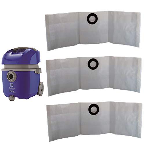 9 Saco Descartável para Aspirador de Pó Electrolux Flex 1400