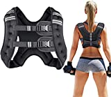 Prodigen Running Weight Vest for Men Women Kids 16 Lbs Weights Included, Body Weight Vests for...