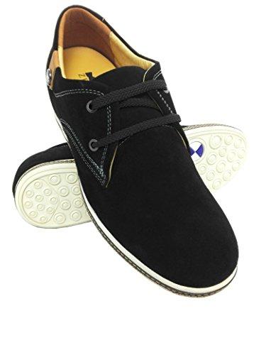 Zerimar Zapatos con Alzas Hombre| Zapatos Deportivos con Alzas Que Aumenta su Altura + 7 cm| Zapatillas Hombre de Vestir| Zapatos Hombre Casuales