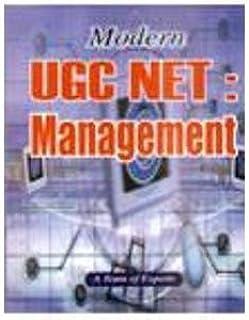 Modern UGC NET/SLET: Management