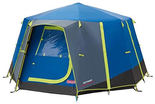 Coleman OctaGo tent voor 3 personen, festivaltent, koepeltent, waterdicht 3 man campingtent met ingenaaid grondzeil