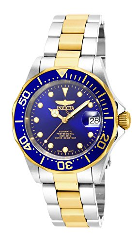 Invicta Men's 17042 Pro Diver Analog Display Japanese Automatic Two Tone Watch