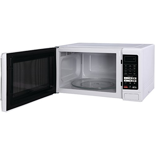 1100 watt white microwave - 2