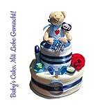Tarta de pañales para niños/Diaper Cake  Cake bebé regalo de nacimiento,...