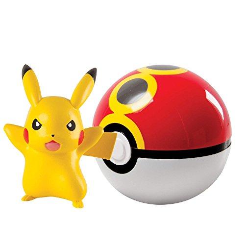 TOMY - T18830 - Coffret - Clip n Carry Poké Ball - Pikachu
