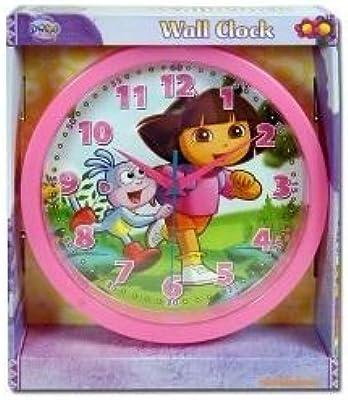 Dora the Explorer Wall Clock - Girls Wall Clock