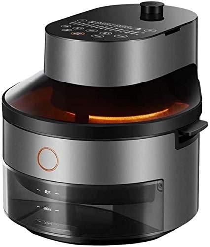 Freidora de aire sin aceite 5l Hogar Automático Sin aceite Gran capacidad Papas inteligentes Máquina Horno eléctrico Antiadherente Cocina saludable