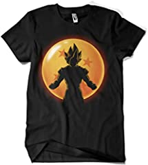 4523-Camiseta Premium,Super Saiyan Hero