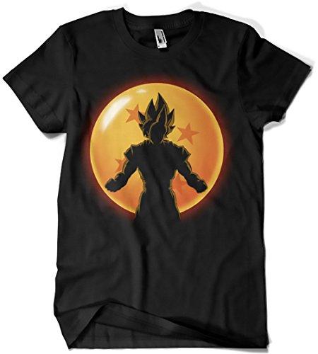 4523-Camiseta Premium,Super Saiyan Hero (ddjvigo)