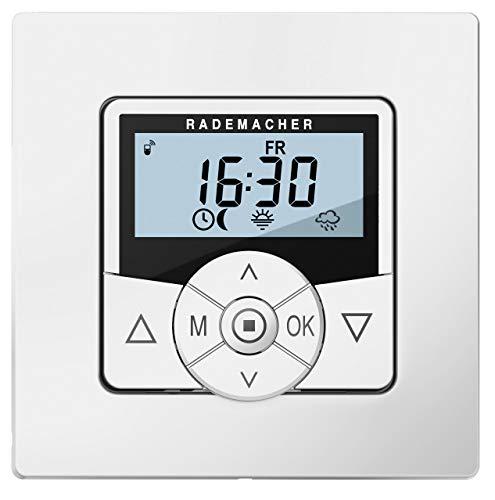 Rademacher 5665-UW Troll Comfort DuoFern, Funk Zeitschaltuhr für Rolläden, Rohrmotor, Rolladenmotor, Rolladensteuerung (Ultraweiß, Weiß)