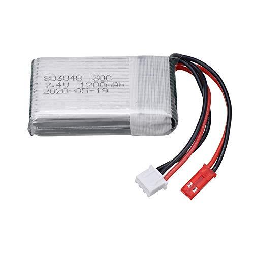 MeGgyc Batería de 7.4V 1200mAh para X101 X102 RC Drone Batería Para X6 H16 H40WH V262 V333 V353B V666 Quadcopter Piezas de repuesto