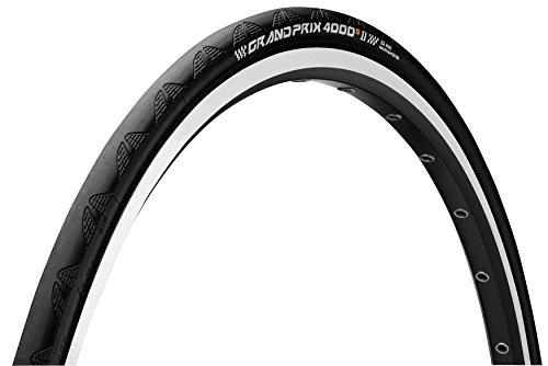 Continental Grand Prix 4000 S II Pneu vélo Mixte Adulte, Noir, 650 x 23C