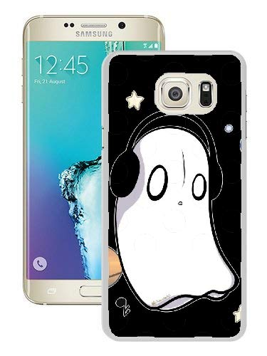 Undertale Napstablook Hard Plastic Phone Cell Case for Galaxy S6 Edge Plus