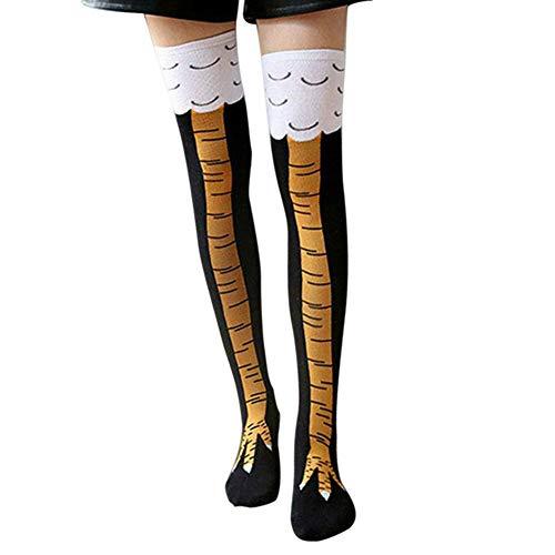 Ambility Women Crazy Funny Chicken Leg...