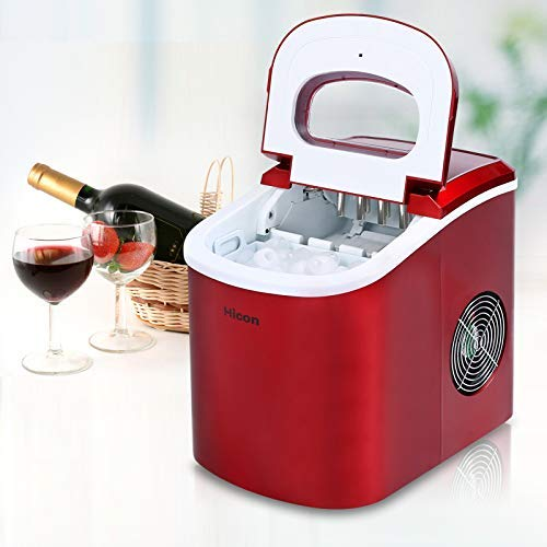 Great Deal! Portable electric 33 pound automatic ice machine, ideal for kitchen, tea shop, bar, part...