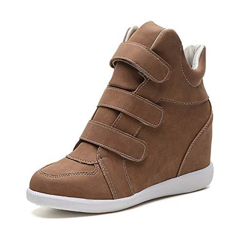 Zapatillas de Plataforma para Mujer cómodos Ligeros de Color sólido Zapatos Casuales...