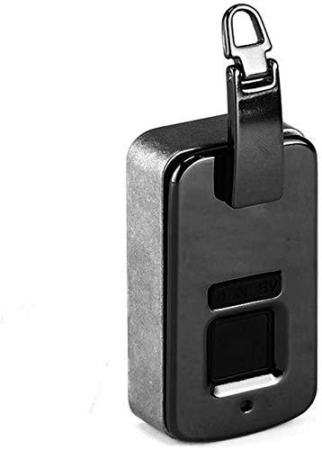 Anti-Theft Fingerprint Lock High-Tech Smart Bag Lock Access Control Lock Embedded Lock for Handbag Wallet Backpack Safety