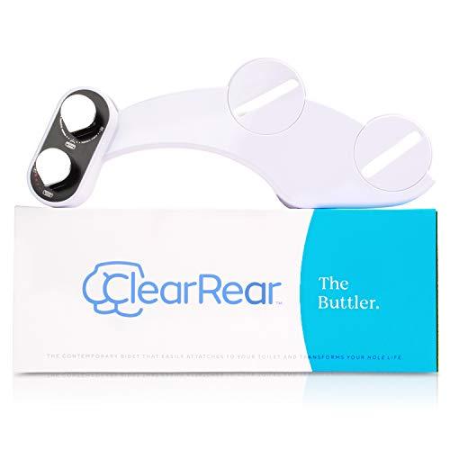 Clear Rear Bidet Toilet Seat