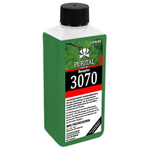 GREEN24 Rezeptur 3070 NPK 6,7+7,0+10,5 Flüssig-Dünger, System Volldünger (Stickstoff Phosphat Kalium) mit Spurennährstoffen Eisen Kupfer Mangan Molybdän Zink