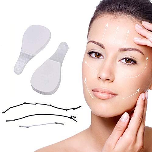 Instant Invisible Face Sticker, V-förmiges Face-Lifting Unsichtbarer Gesichtsaufkleber, Hals- und Augenlifting-Kit für das Anti-Aging der Frau 40 Piece