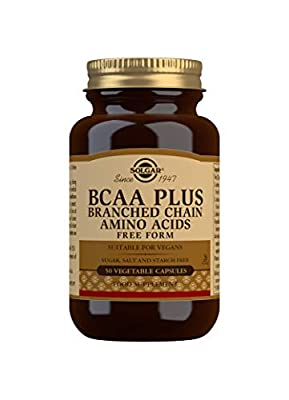 Solgar BCAA Plus Vegetable Capsules - Pack of 50