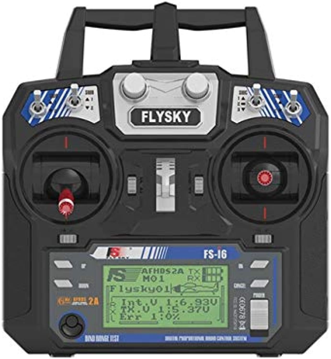 Laliva Flysky i6 FSi6 Transmitter with IA6 Receiver 2.4G 6Channel RC Radio Control System  (color  Right thred i6 only)
