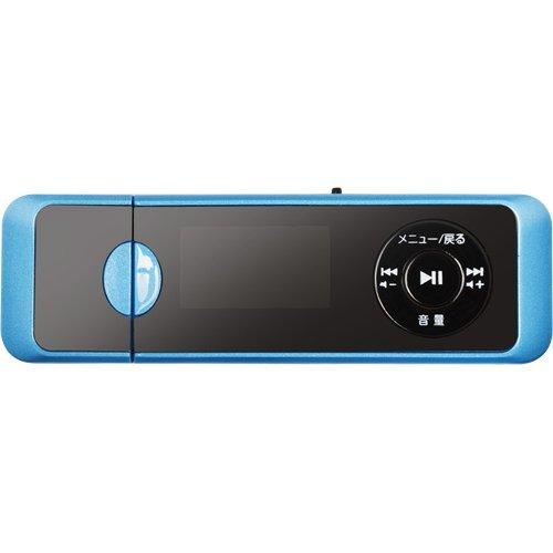GH-YMPD16-BL(ブルー) MP3プレーヤー 録音機能付き 16GB