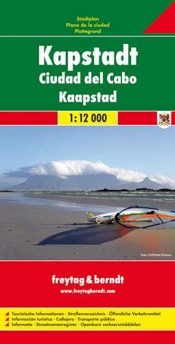 Kapstadt: 1:12000: Stadskaart 1:12 000 (freytag & berndt Stadtpläne, Band 514)