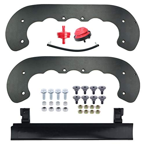 Paddles for Toro CCR 99-9313 Power Clear 621 721 Snowblower, Scraper Bar 133-5585 with Hardware Kit