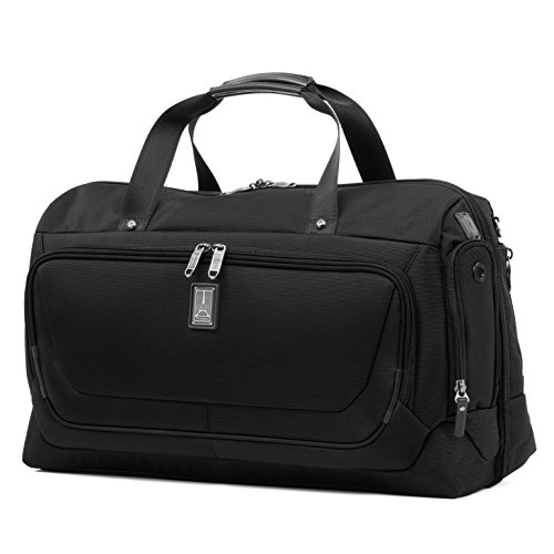 Travelpro Crew 11 22' Carry-on Smart Duffel with Suiter w/USB Port, Black