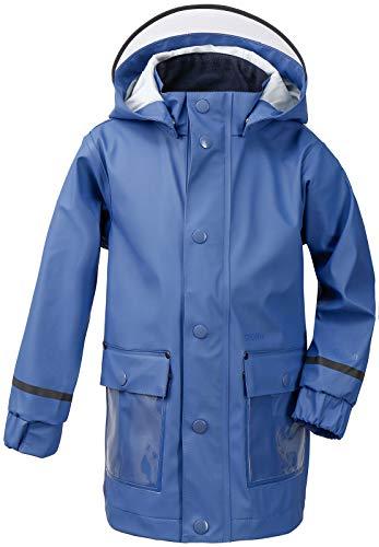 Didriksons Kinder Regenjacke Regenschutz MYRAN Kids JKT Winddicht (389 Fjord Blue, 100)