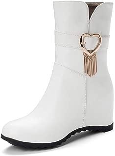 BalaMasa Womens ABS14037 Pu Boots