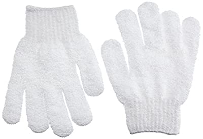 Beautytime Exfoliating Bath Gloves - Pack of 2 by Beautytime