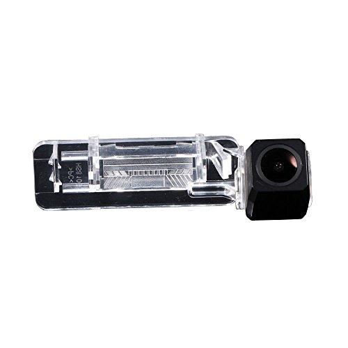 HD IP68 1280Pixeles Luz de la Placa del 170 Gran Angular IR Visión Nocturna Vista Posterior Cámara Marcha atrás para Mercedes-Benz Smart R300 R600 /W450 W451 W453