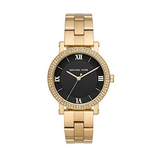 Relógio Analogico Mkors Feminino Caixa Aço Dourado(A); Pulseira Aço Dourado(A)